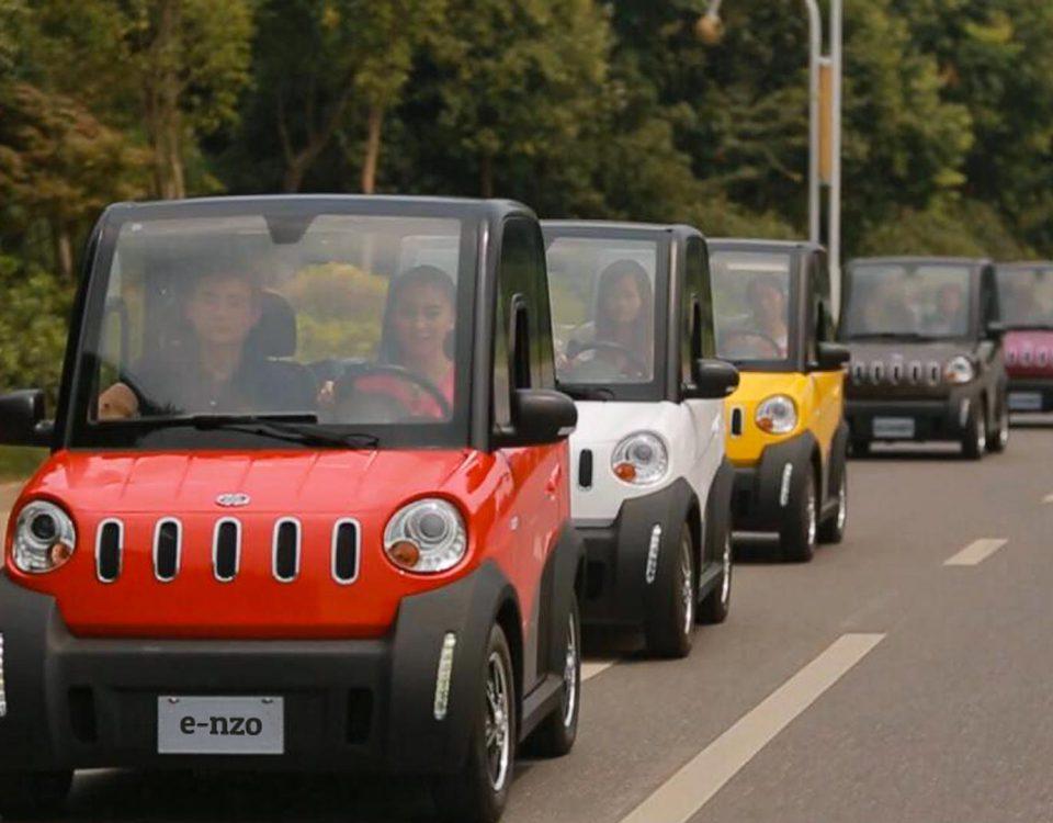 E-LEVEN Probefahrt-Roadshow e-nzo e-ddy und e-gon Testfahrt