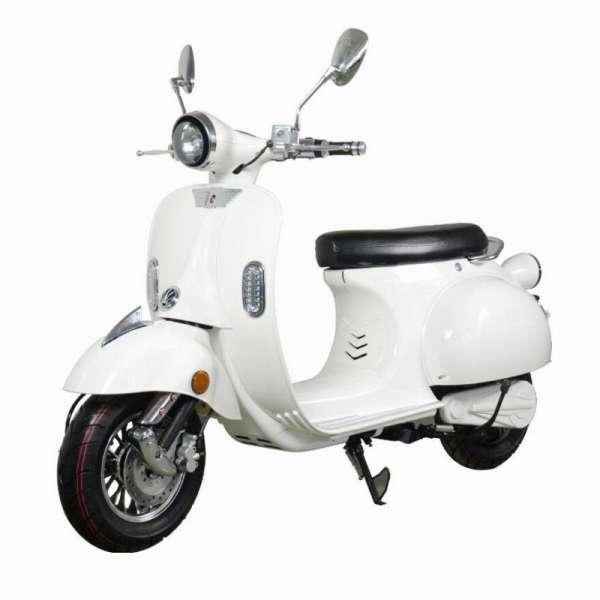e-ros Elektro Roller Weiß E-LEVEN Mobility Solutions