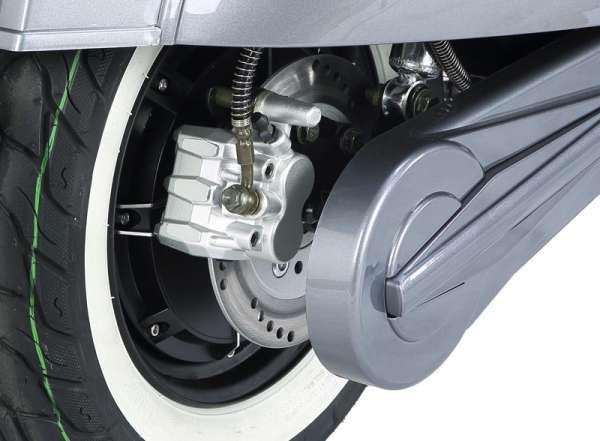 e-ros Retro Elektro-Roller (Scooter) Antrieb, Bremsen E-LEVEN Mobility-Solutions