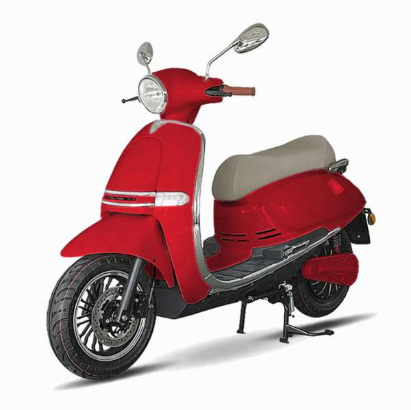 e-vil Elektro-Roller 80er Rot E-LEVEN Mobility Solutions
