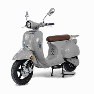 e-ros 365 Elektro Roller Grau front E-LEVEN Mobility Solutions
