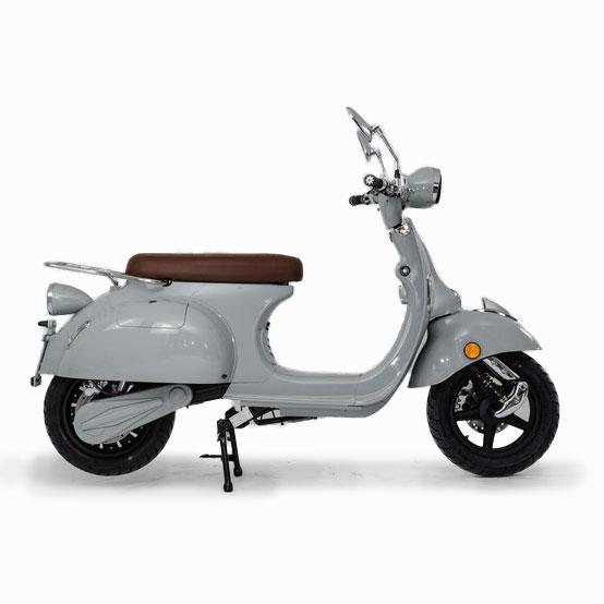 e-ros 365 Elektro Roller Grau seite E-LEVEN Mobility Solutions