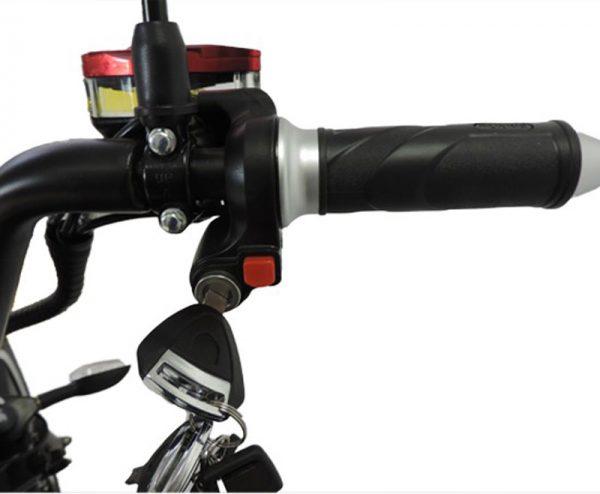 City-Twister Elektro-Chopper 45 km/h Gashebel E-LEVEN Mobility