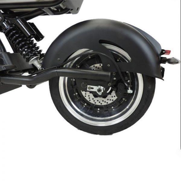 City-Twister Elektro-Chopper 45 km/h Hinterrad und Scheibenbremse E-LEVEN Mobility