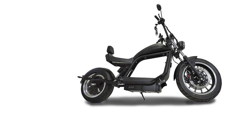 City-Twister Elektro-Chopper 45 km/h Seite E-LEVEN Mobility