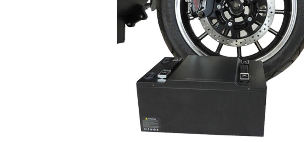 City-Twister Elektro-Chopper 45 km/h herausnehmbarer Akku E-LEVEN Mobility
