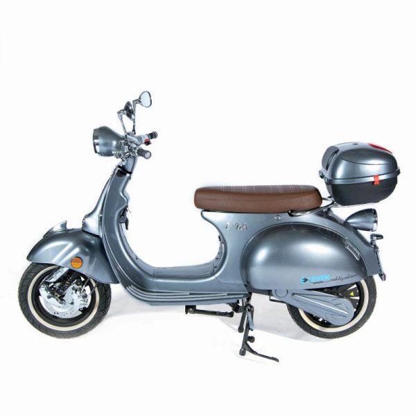 e-ros365 Scooter / Roller grau / seite – E-LEVEN Mobility Solutions