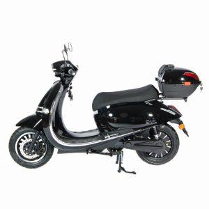 e-vil Performance Scooter / Roller schwarz seite - E-LEVEN Mobility Solutions