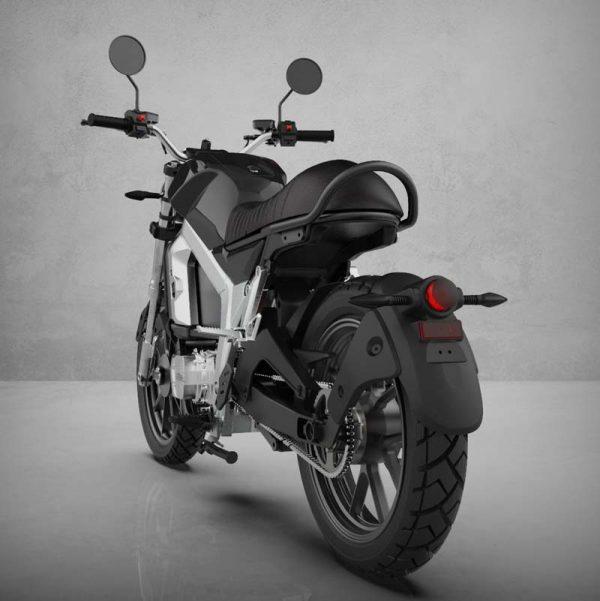 Horwin CR6 Black perspektivisch / heck E-LEVEN mobility solutions