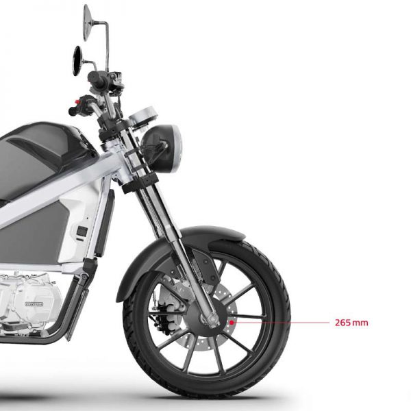 Horwin CR6 Scheibenbrese front E-LEVEN mobility solutions