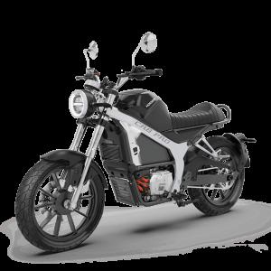 Horwin CR6 Pro Black / Schwarz perspektivisch / front E-LEVEN mobility solutions
