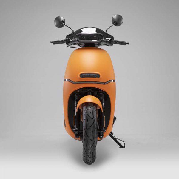 HORWIN EK1 Premium E-Scooter 45 km/h, Mattorange front - E-LEVEN Mobility GmbH Stuttgart