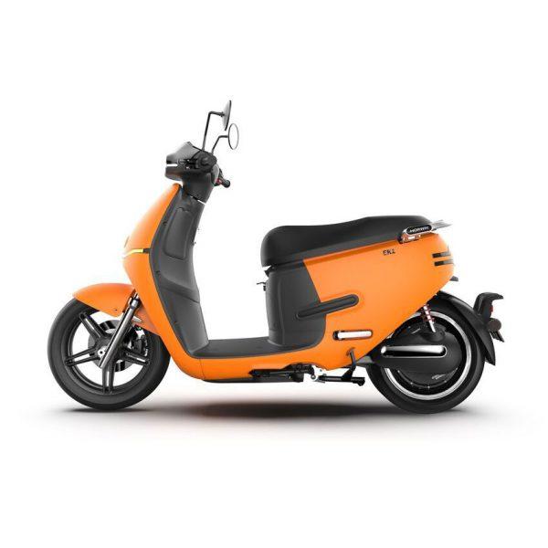 HORWIN EK1 Premium E-Scooter 45 km/h, Mattorange Seite - E-LEVEN Mobility GmbH Stuttgart