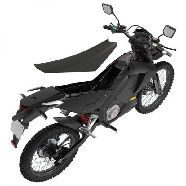 Tinbon Esum ES-1 Elektro-Enduro-Motorrrad Batterie-Fach E-LEVEN mobility solutions