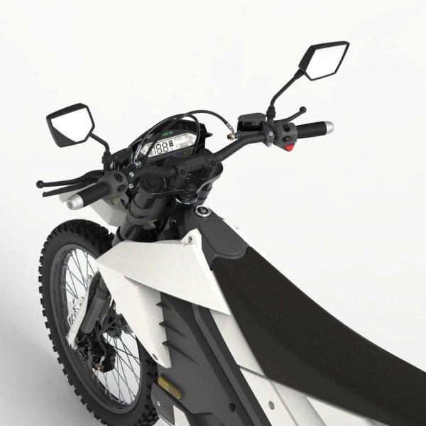 Tinbon Esum ES-1 Elektro-Enduro-Motorrrad Tacho und Lenker E-LEVEN mobility solutions