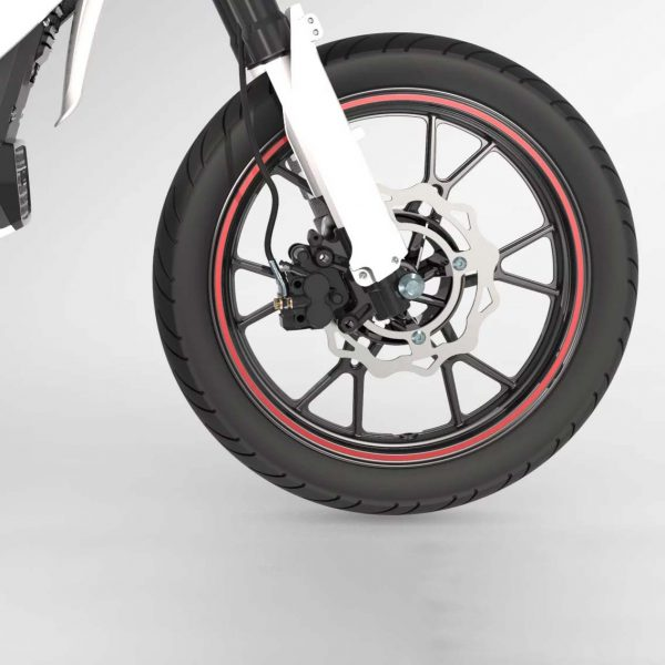 Tinbon Esum ES-1 Elektro-Enduro-Motorrrad Straßen-Bereifung E-LEVEN mobility solutions