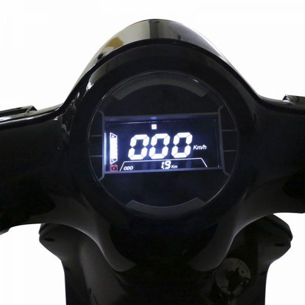Tinbon TB-F10 Elektro-Scooter 50er e-Roller Detail Tacho E-LEVEN mobility solutions