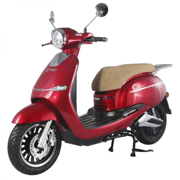 Tinbon TB-F10 Elektro-Scooter 50er e-Roller Rot E-LEVEN mobility solutions