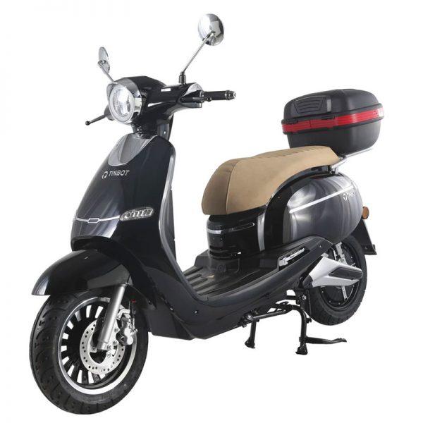 Tinbon TB-F10 Elektro-Scooter 50er e-Roller Schwarz E-LEVEN mobility solutions