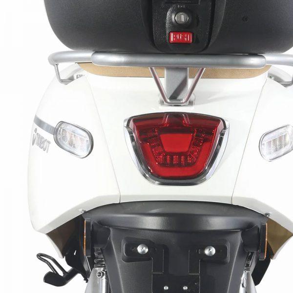 Tinbon TB-F10 Elektro-Scooter 50er e-Roller Weiß Heck E-LEVEN mobility solutions