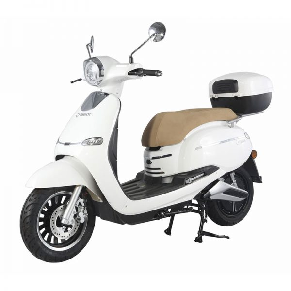 Tinbon TB-F10 Elektro-Scooter 50er e-Roller WEiß E-LEVEN mobility solutions