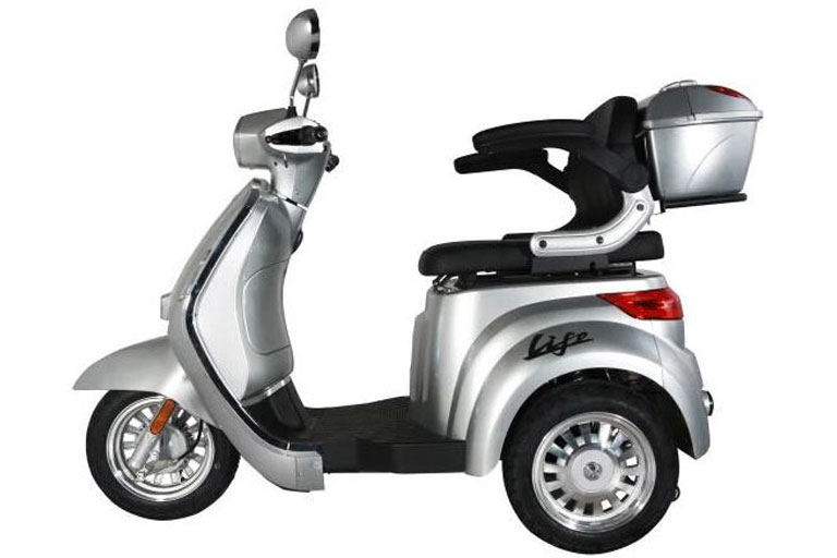 Tinbon LIFE Elektro-Seniorenmobil 20 km/h Seite E-LEVEN mobility solutions