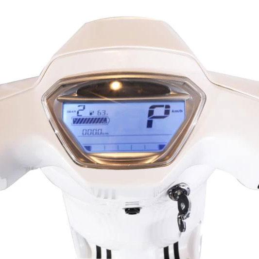 Tinbon LIFE Elektro-Seniorenmobil 20 km/h Detail Tacho E-LEVEN mobility solutions